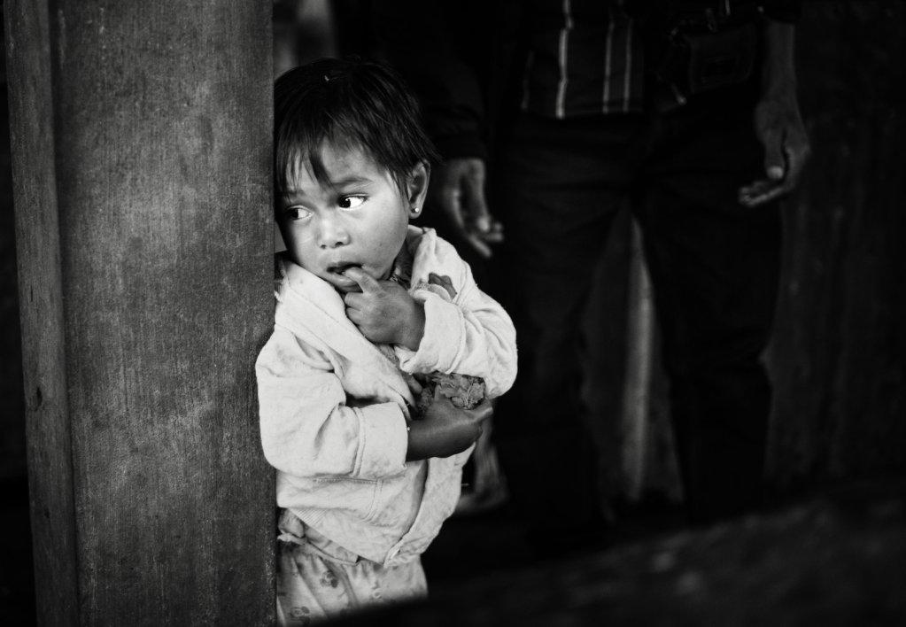 Kid in Market Bali
